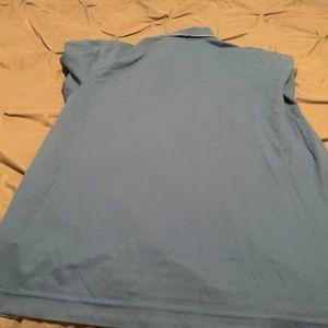 Nike Shirts - NIKE FIT DRY Men's Baby Blue SS Shirt. Size Large